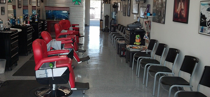 Jake's Barber Shop : Huntington Beach, CA